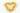 Herz geformt aus gelben Calendulablüten auf weißem Hintergrund