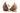 In der Mitte halbierte Kokosnuss mit brauner Schale auf weißem Hintergrund