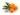 Nahaufnahme einiger orange farbener Sanddornbeeren und gruenen Blaettern auf weißem Untergrund