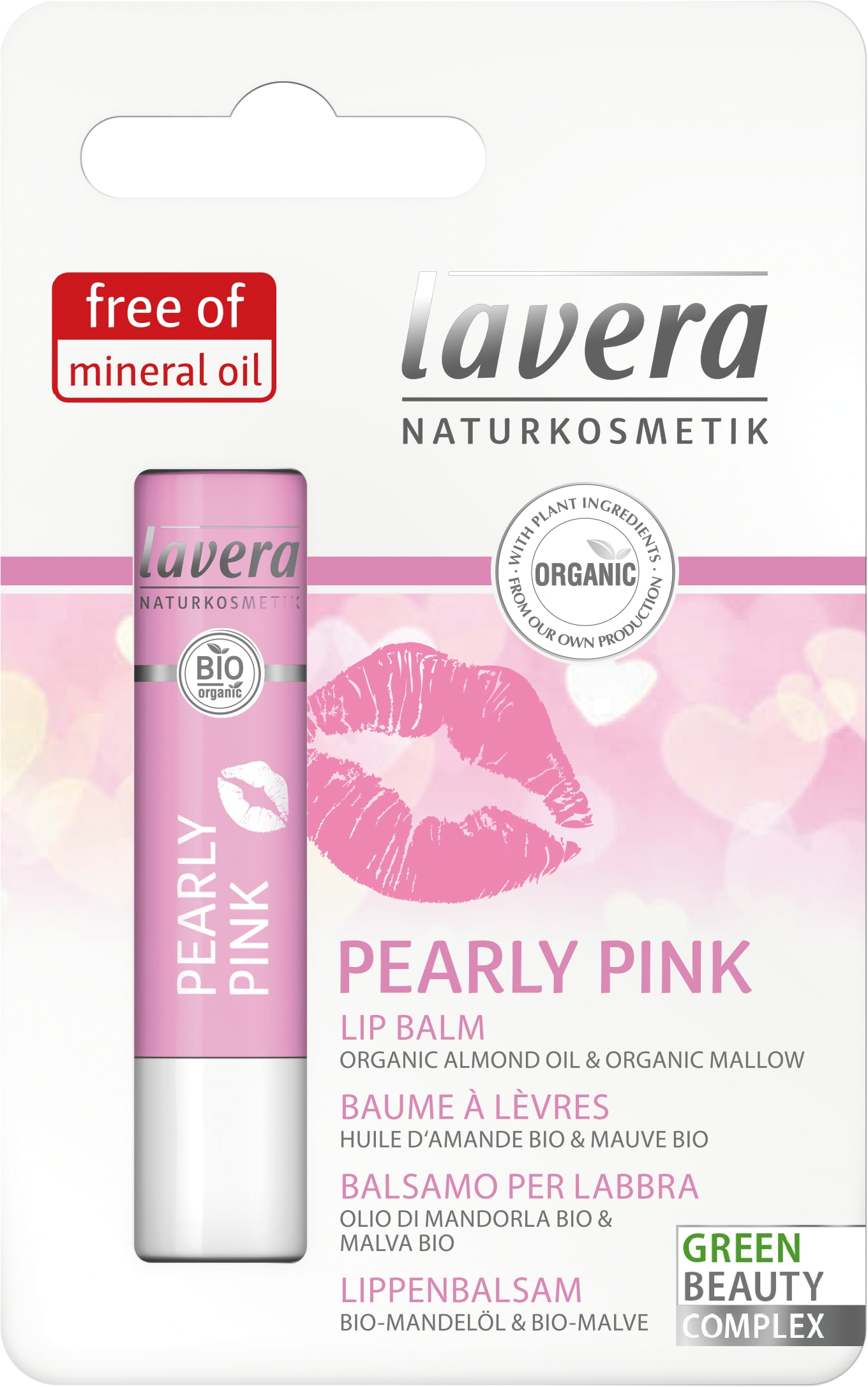 Baume à lèvres Pearly Pink