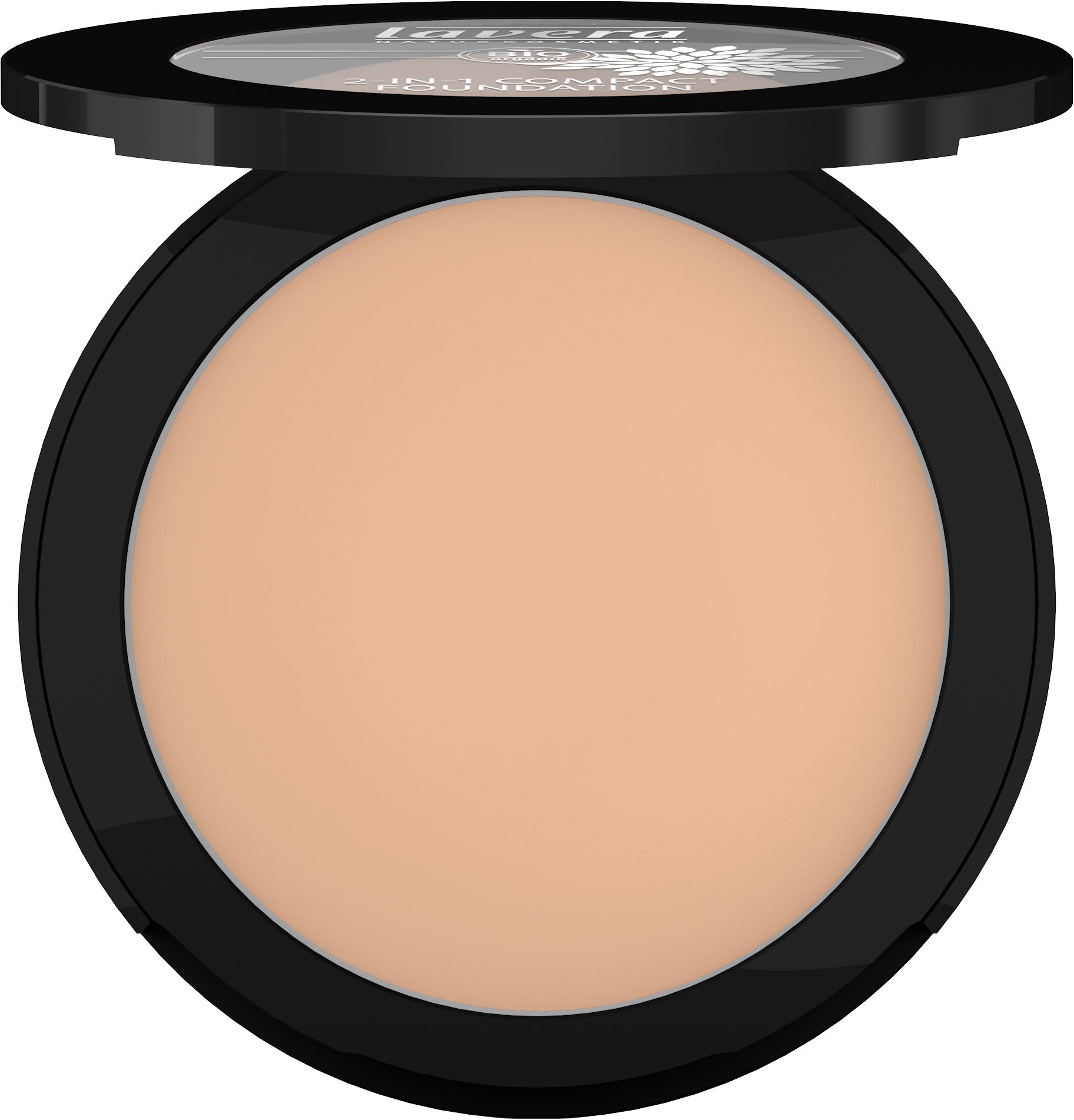 2-in-1 Compact Foundation -Ivory 01-