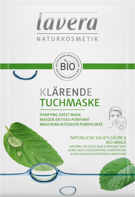 Masque en tissu purifiant
